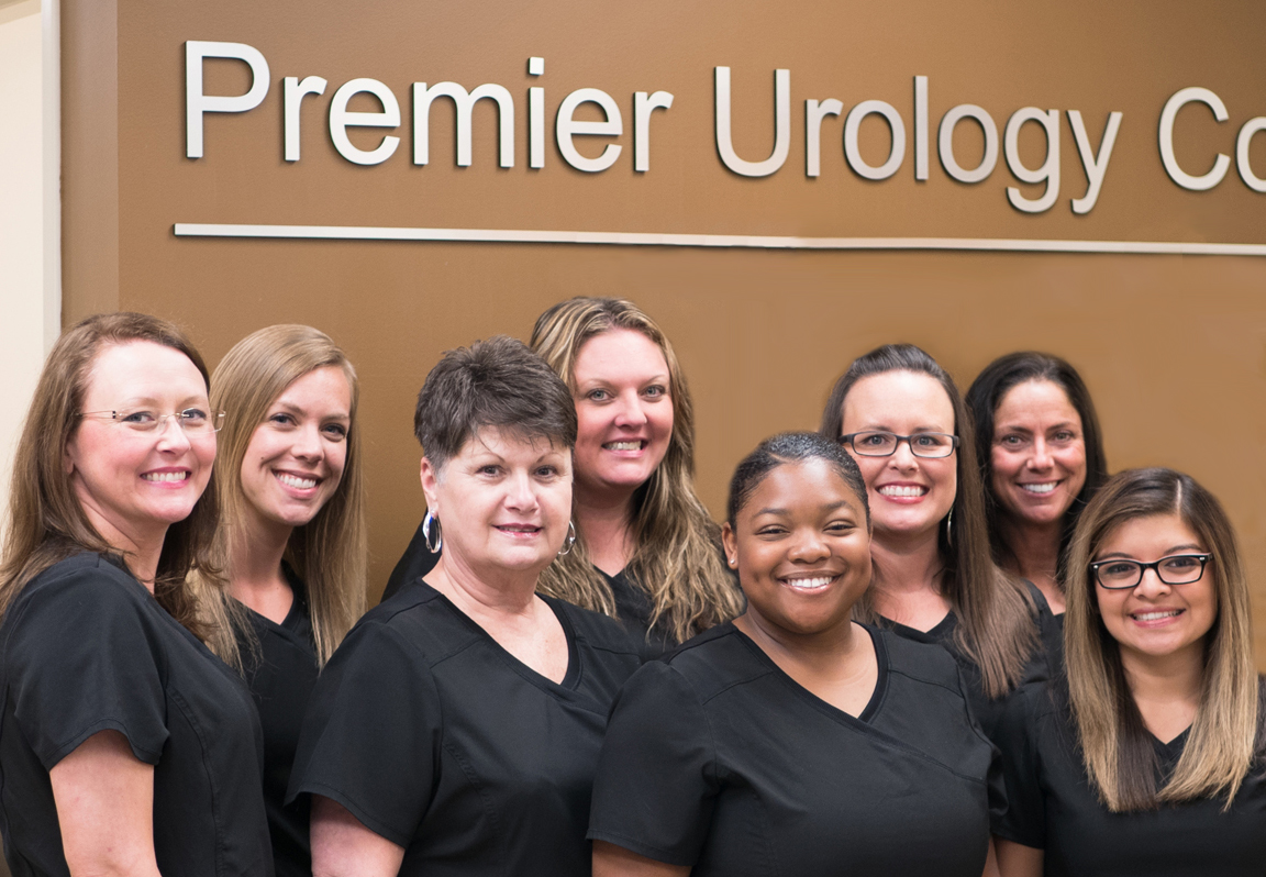 The staff of Premier Urology.